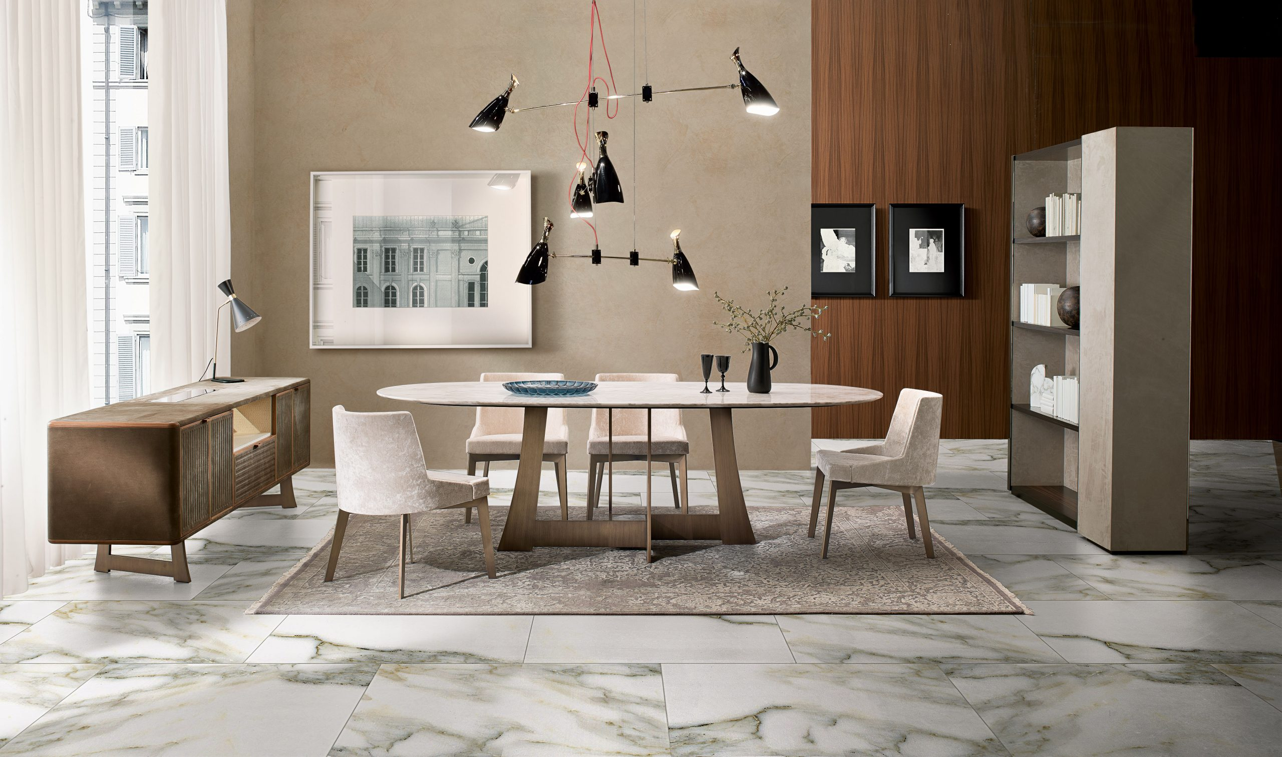 Moore dining table